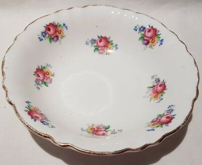Vintage Colclough China Bone Floral Nut Dish Small Bowl c1939-45 Made In England