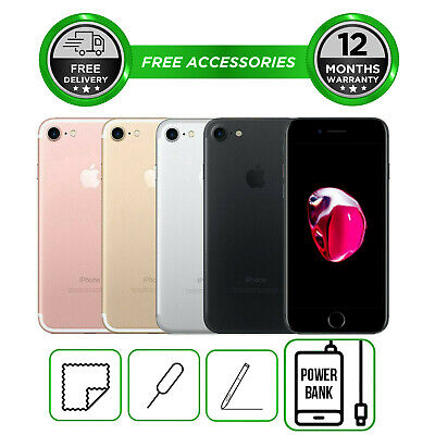Apple iPhone 7 32GB 128GB 256GB All Colours Unlocked to All Network Smartphone