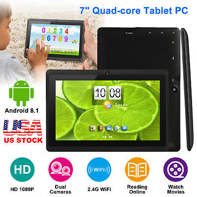8 Android 6-0 Tablet PC Quad Core 16GB Dual Camera Wi-Fi with Keyboard Bundle