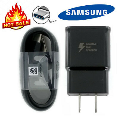 Samsung Adaptive Fast Travel Wall Charger for Galaxy S9 S8 Plus Note 8 wCable