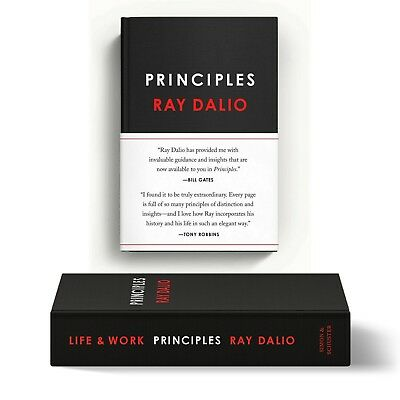 Principles  Life and Work by Ray Dalio 2017 Hardcover FREE SHIPPING