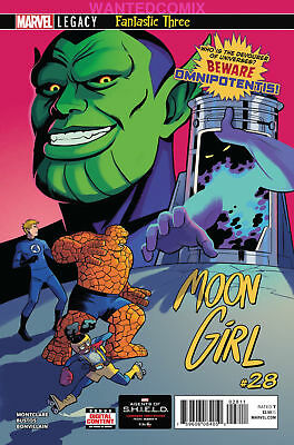MOON GIRL - DEVIL DINOSAUR 28 1st OMNIPOTENTIS MARVEL COMIC BOOK NEW 1 SOLD OUT