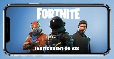 Fortnite Battle Royale Mobile iOS - Instant Delivery - Friend Invite