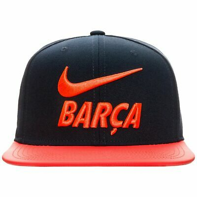 2018 FC BARCELONA TRUE ADJUSTABLE HAT 916568 451 Blue Orange 455 BLUE 010 Black