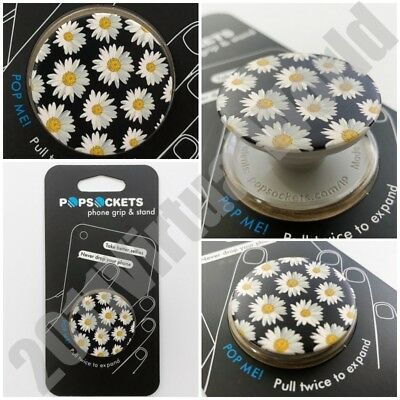 PopSockets Single Phone Grip PopSocket Universal Phone Holder Daisies 800010