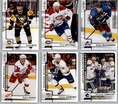 2017-18 O-Pee-Chee Hockey - Base Rookie and SP Cards - Choose Card s 401-600