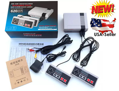 NEW Nintendo NES Classic Edition Mini Game Console 620 Games - 2 Controllers USA