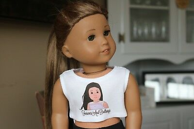 Crop Top for American Girl Doll ForeverAndDollways Merch