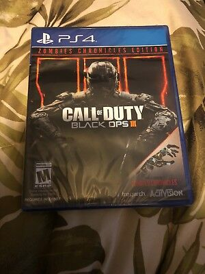 Call Of Duty Black Ops III Zombie Chronicles Edition Sony Playstation 4 2017