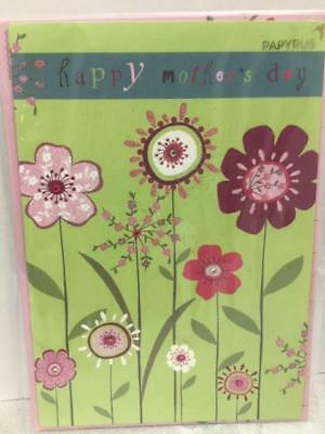 Mothers Day card - flowers - Papyrus
