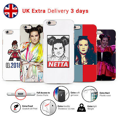 NETTA BARZILAI ISRAEL SINGER EUROVISION 2018 WINNER PHONE CASE COVER FOR IPHONE