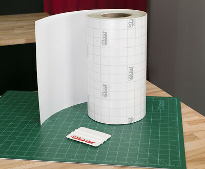 Siser EasyPSV Vinyl Application Transfer Paper Clear Tape with Grid by FootYard