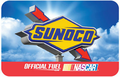 100 Sunoco Gas Physical Gift Card For Only 94 - FREE 1st Class Mail Delivery