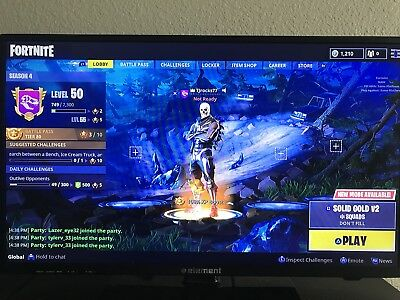 RARE fortnite Battle Royale Save The World Ps4 Account
