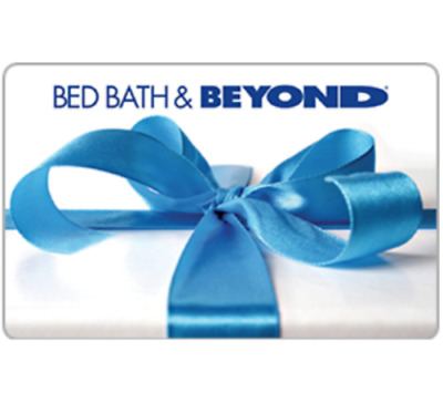 Get a 100 Bed Bath and Beyond Gift Card for only 50 - Via Fast Email delivery