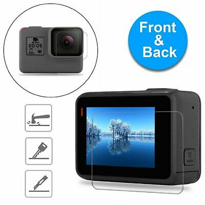 For GoPro Hero 6 5 Black Clear Tempered Glass Screen - Lens Protector