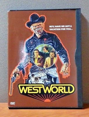 Westworld    DVD   Snapcase   Very Good