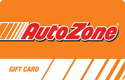 100 AutoZone Physical Gift Card For Only 90 - FREE 1st Class Mail Delivery