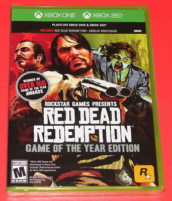 New Red Dead Redemption Game of the Year Edition - Xbox One and Xbox 360