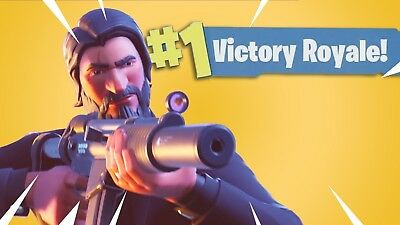 Fortnite Battle Royale SoloDuoSquad Win PC ONLY