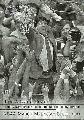 2014-15 UPPER DECK MARCH MADNESS JV1 JIM VALVANO NC STATE FREE SHIPPING