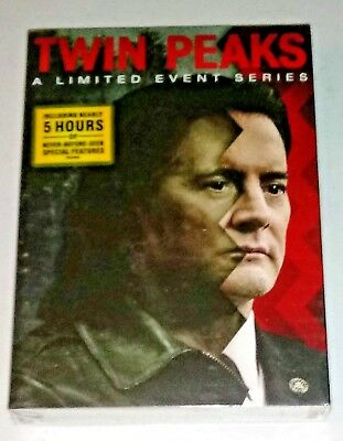 NEW TWIN PEAKS A LIMITED EVENT SERIES 2017- 8-DISC DVD BOX SET- SHIPS FREE
