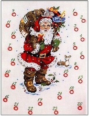 Advent Santa by Permin Counted Cross-stitch Pattern