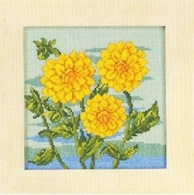 Dahlia by Permin Counted Cross-stitch Pattern