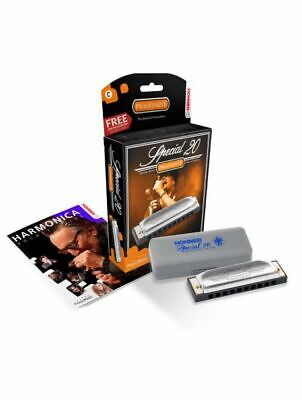 Hohner Special 20 Diatonic Harmonica- Free shipping in the US