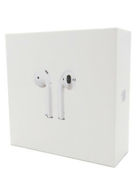 New Apple AirPods White MMEF2AMA In Ear Bluetooth Headset Authentic Airpod