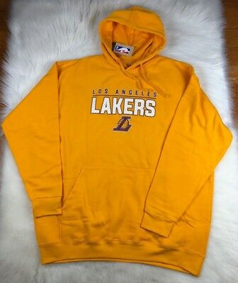 Los Angeles Lakers Mens 2XLT Big - Tall Pullover Gold Hoodie NBA NWT