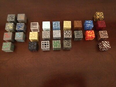 Minecraft Periodic Table of Elements Blocks  Full Set  Perfect Condition