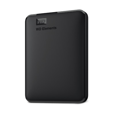 WD Elements Portable 2TB Certified Refurbished Hard Drive by Western Digital