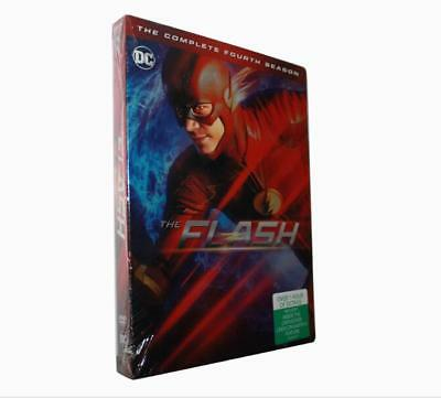The Flash Season 4 DVD NEW 5-Disc Set  US
