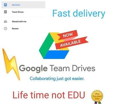 UNLIMITED STORAGE GOOGLE DRIVE1 FOR YOUR EXISTING ACC NOT EDU LIFE TIME