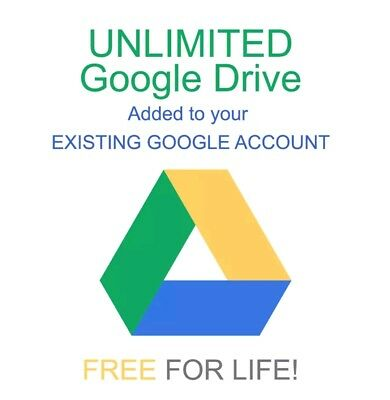 GOOGLE UNLIMITED STORAGE UNLIMITED DRIVE UNLIMITED NOT EDU