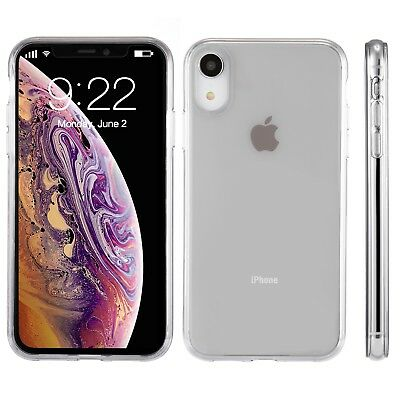 For Apple iPhone XR Case 6-1 Silicone Crystal Clear Bumper Gel iPhone 10R Cover