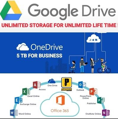 Google drive unlimited storage lifetime not EDU