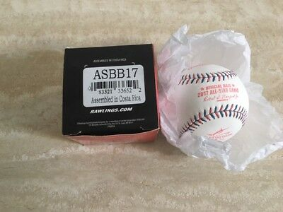 Rawlings Official 2017 All Star Game Baseball Brand New