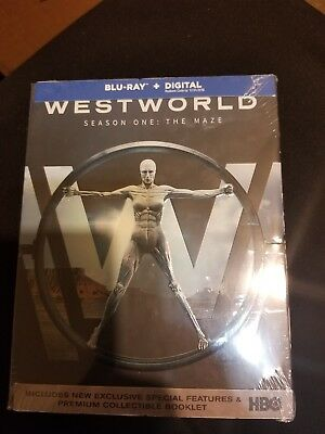Westworld The Complete First Season Blu-ray Disc 2017
