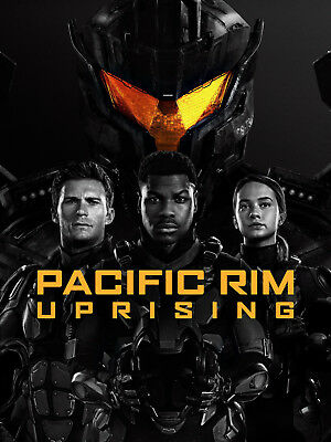 PACIFIC RIM UPRISING  DVD  BRAND - NEW SEALED WITH SLIP COVER