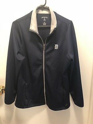 Antiqua Detroit Tigers Ladies Full Zip Jacket XL