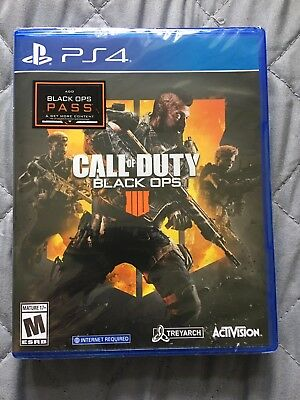 Call of Duty Black Ops 4 PlayStation 4 2018  Brand New and Sealed