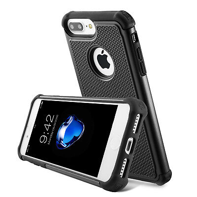 iPhone 78 and 78 Plus Case Non-Slip Hybrid Dual Layer Shockproof Cover