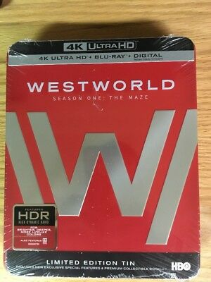 Westworld - Season One The Maze 4K Ultra HDBlu-rayDigital HD 2017Brand New