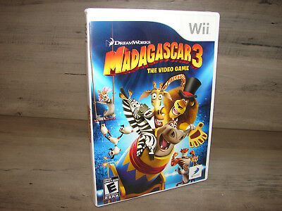 Madagascar 3 Nintendo Wii Video Game   DISC IS MINT