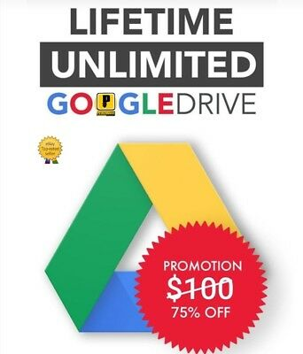❤UNLIMITED❤FOR GOOGLE DRIVE IF BUY 2 win 1 free LIFE TIME NOT EDU UNLIMITED