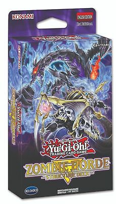 YuGiOh Zombie Horde Structure Deck 2018 1st Edition Mint Fast Free Ship