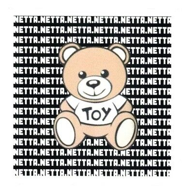 EUROVISION 2018 TOY BEAR STICKER  Netta Barzilai ISRAEL Vinyl Decal  3  NEW