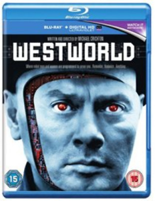 Yul Brynner Majel Barrett-Westworld Blu-ray NEW